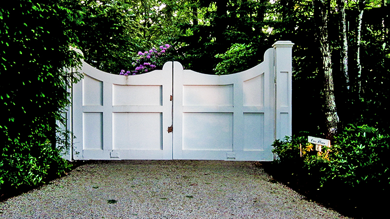 East Hampton Fence Amp Gate Fences Gates Pergolas Deer